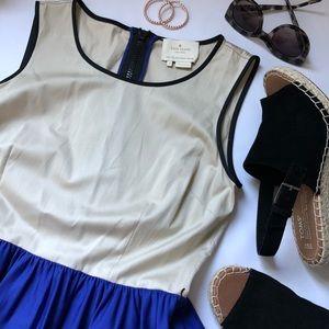 Kate Spade Color block Sleeveless Dress